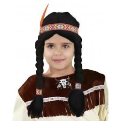 Peluca India Infantil